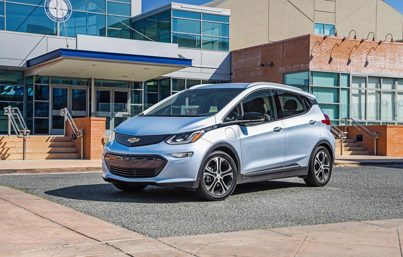 Photo wallpaper Chevrolet, Car, Silver, Bolt, 2017, EV