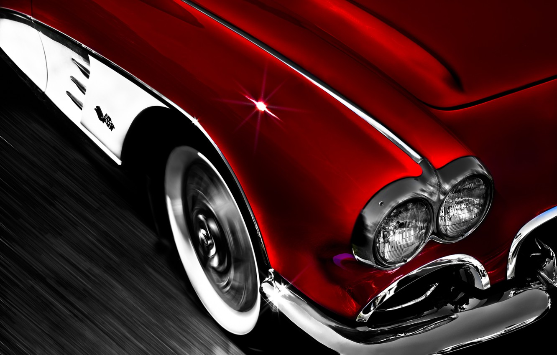 Photo wallpaper background, Corvette, Chevrolet, Chevrolet, classic, 1962, Corvette