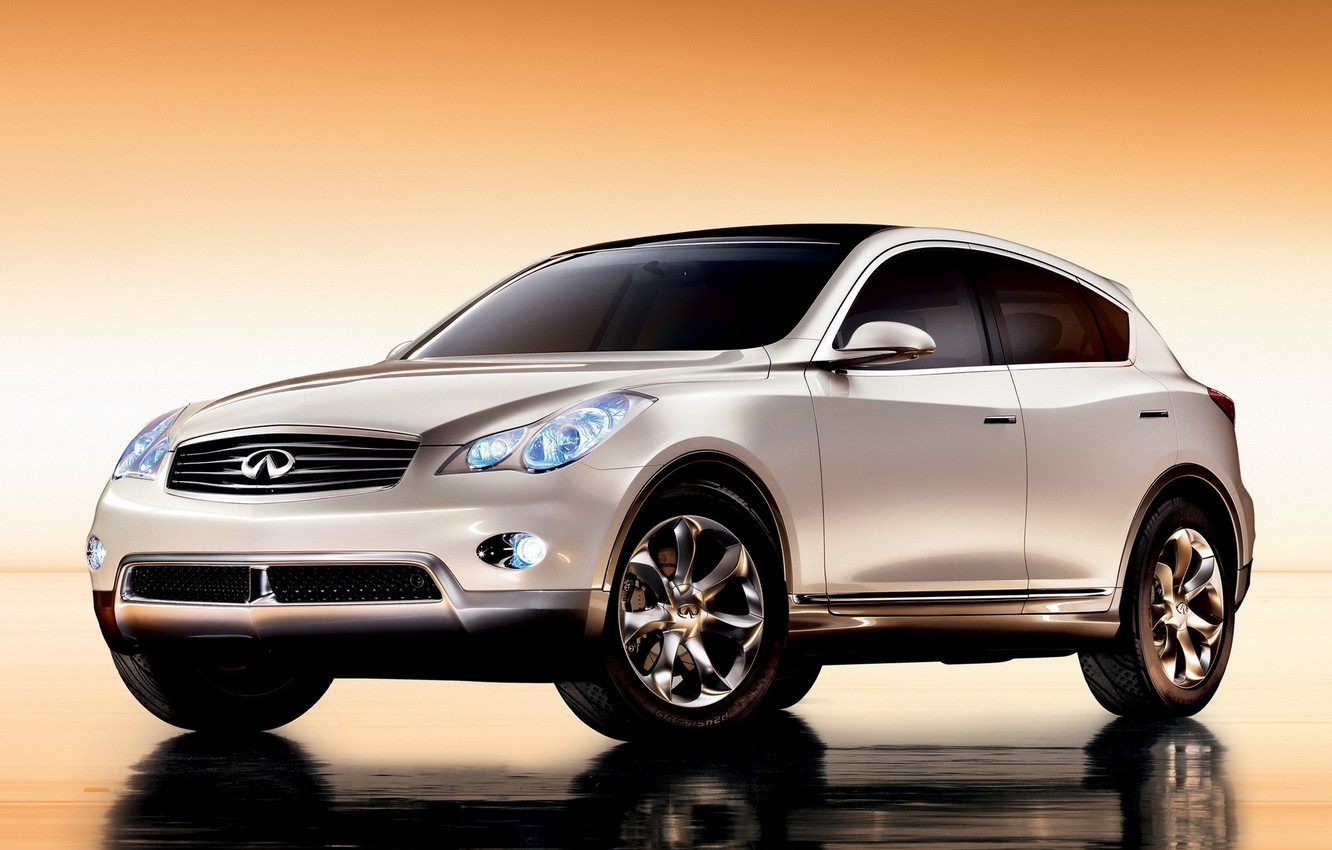 Photo wallpaper concept, Infiniti