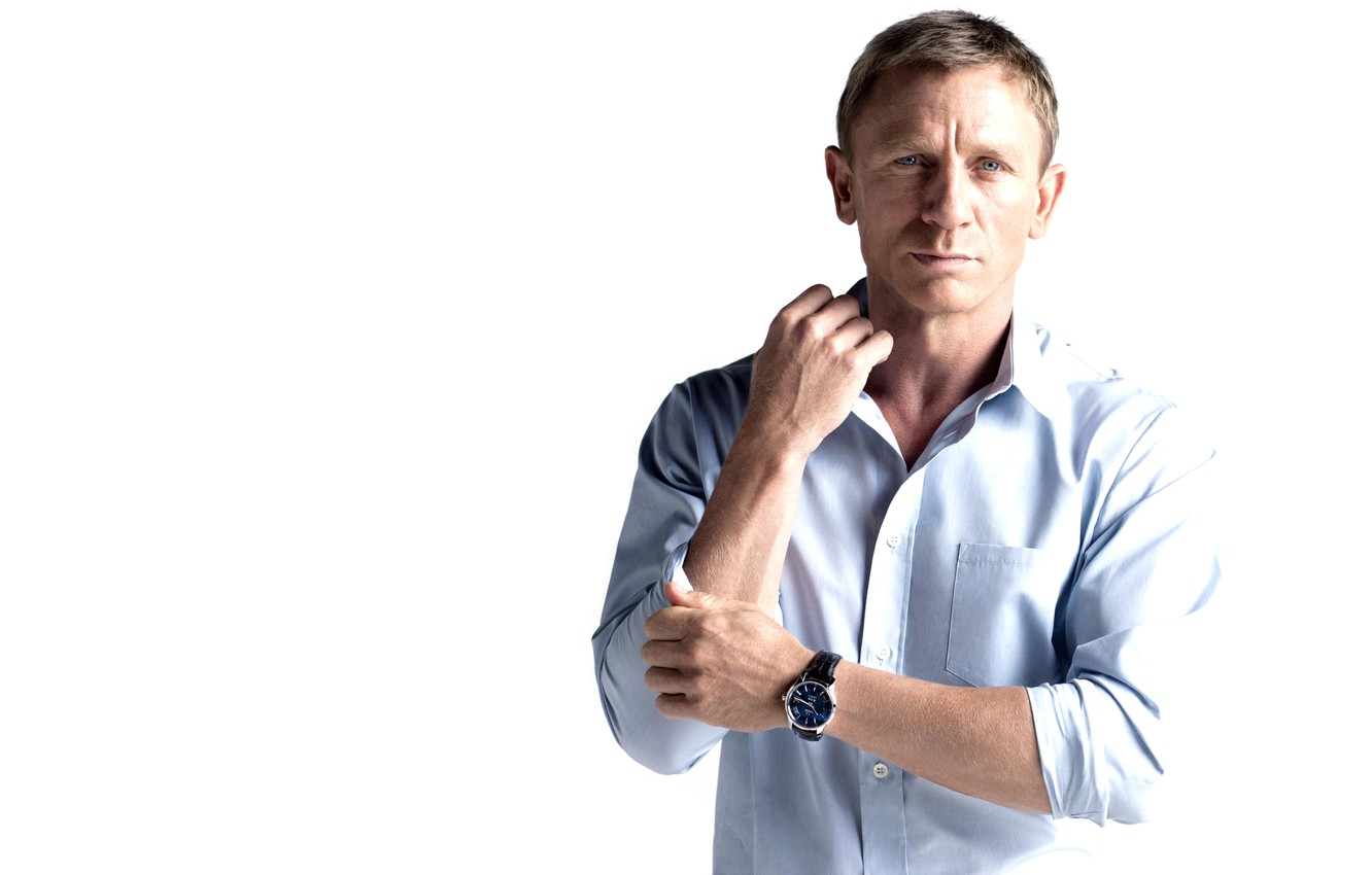 Photo wallpaper watch, male, actor, James Bond, Daniel Craig, 007, omega, James Bond, Daniel Craig, ruuska