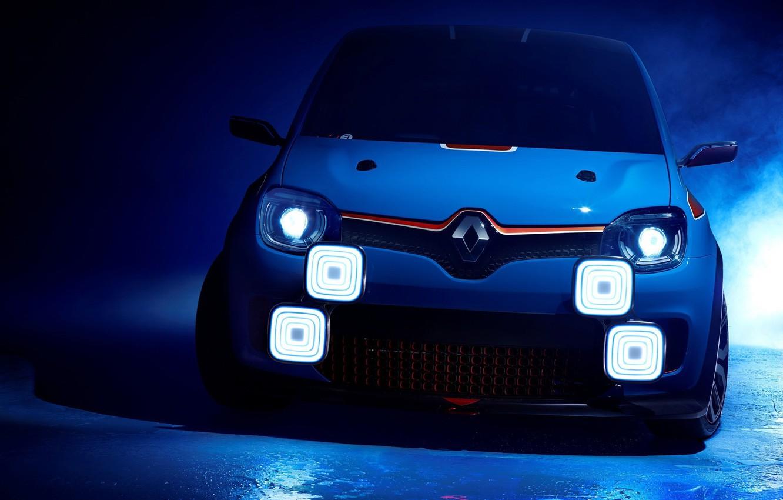 Photo wallpaper Concept, Renault, Twin'run