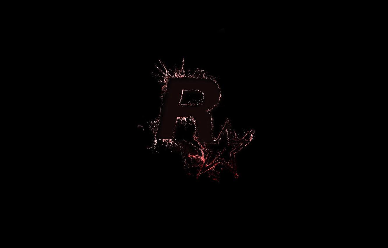 Wallpaper Star Logo Game Background Rockstar Games Rockstar Logo Images For Desktop Section Igry Download