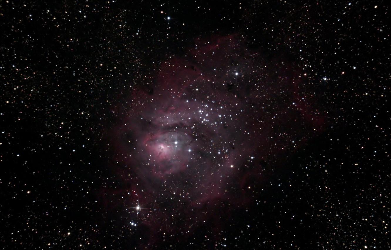 Photo wallpaper Laguna, Nebula, giant, in the constellation Sagittarius, interstellar cloud
