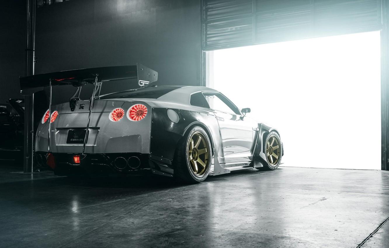 Photo wallpaper Nissan, GT-R, Rocket Bunny, GT Auto Concepts
