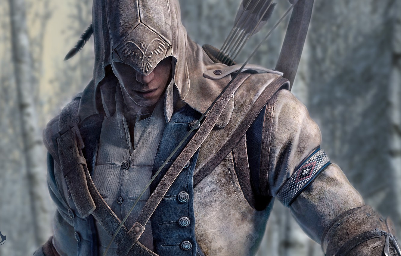 Wallpaper The Game Bow Killer Connor Assassin S Creed 3 Images