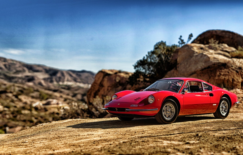 Photo wallpaper 1969, Ferrari, Ferrari, Dino, Dino, 246 GT