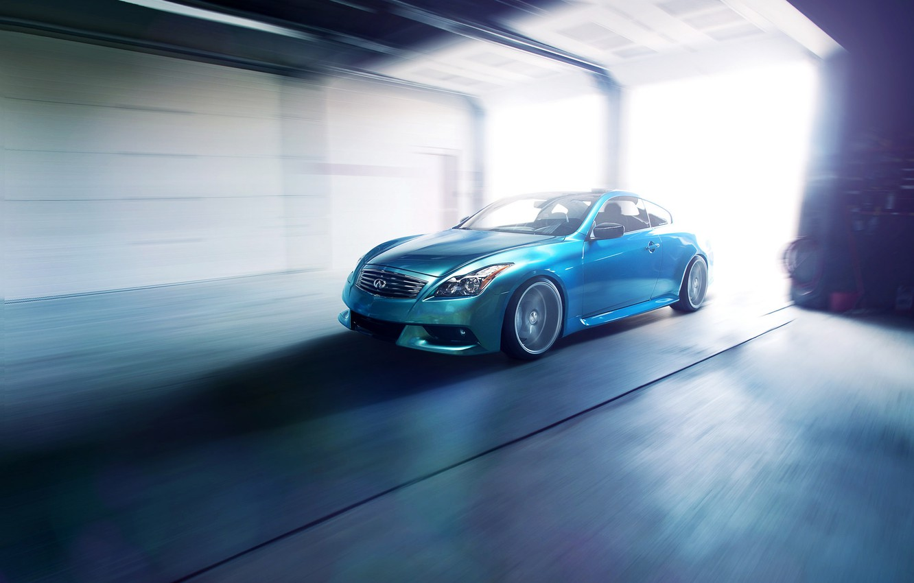 Photo wallpaper Boxing, Infiniti, infiniti, G37, Vossen Wheels, Ronaldo Stewart