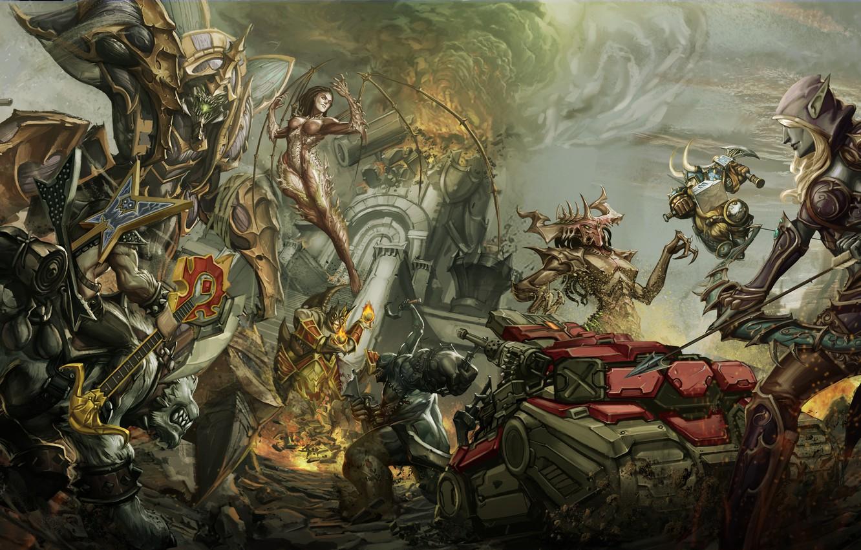 Wallpaper starcraft diablo warcraft viking sarah - Heroes of the storm phone wallpaper ...