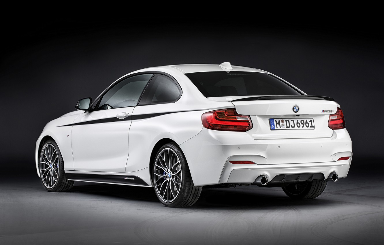 Photo wallpaper BMW, 2014, 2-Series, Performance Parts, Coupe M