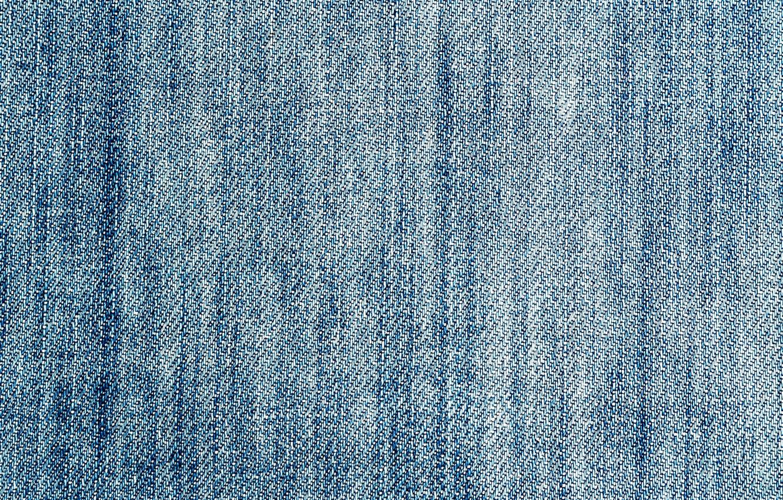 Photo wallpaper jeans, fabric, thread