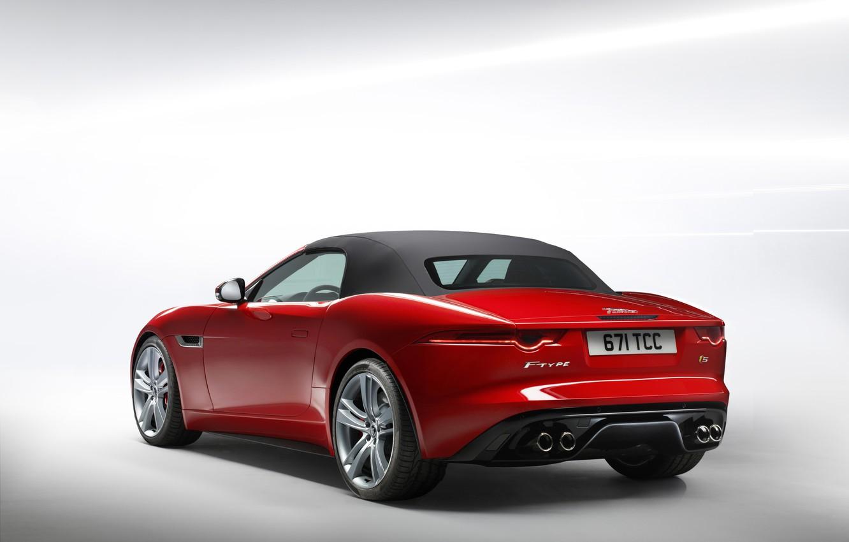 Photo wallpaper Jaguar, Car, F-Type