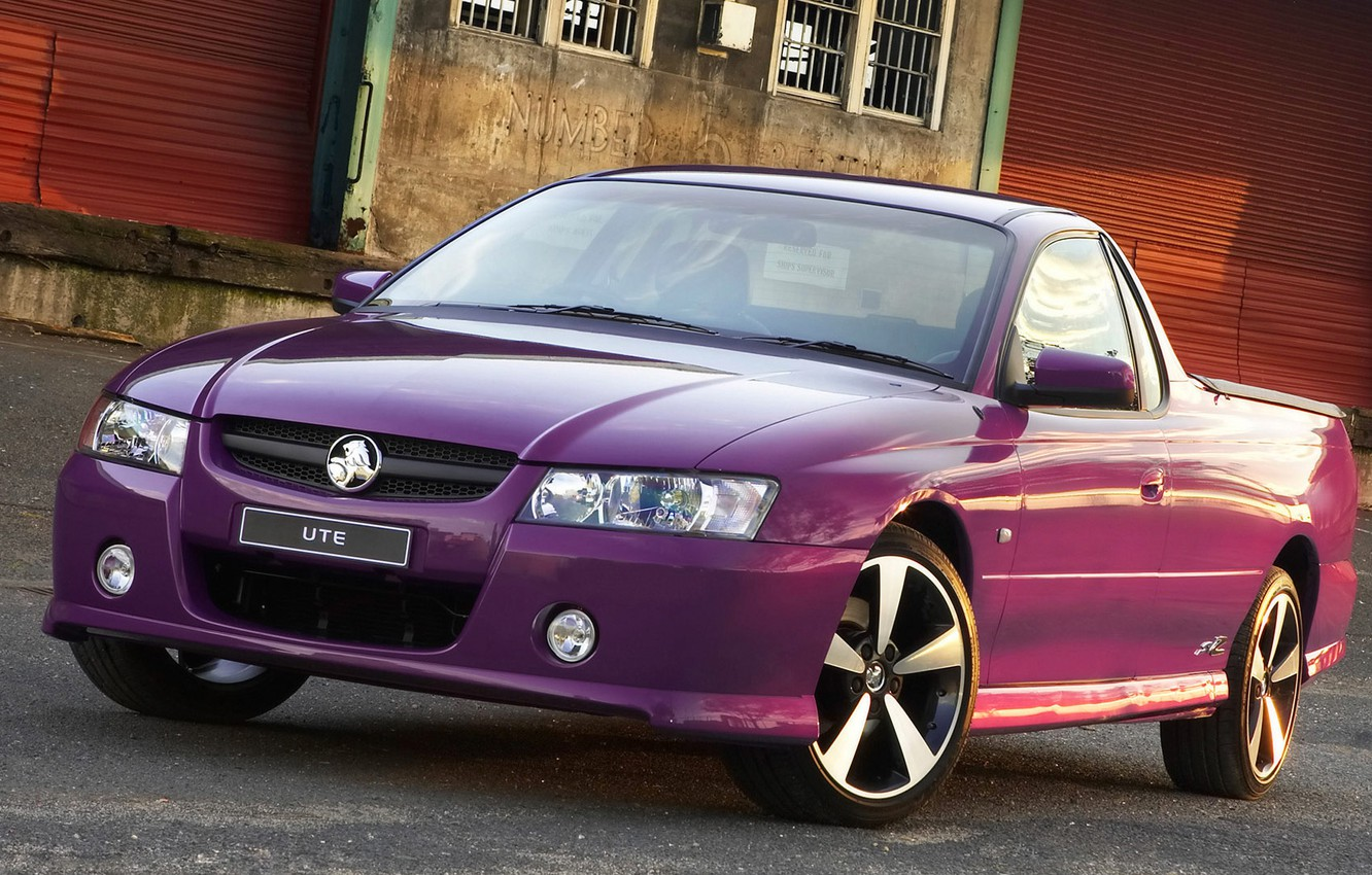 Photo wallpaper pickup, Holden, Ute, Thunder S