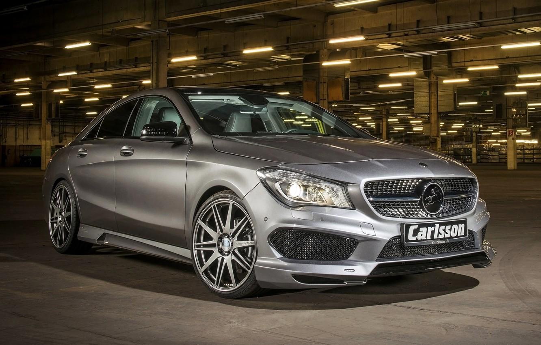 Photo wallpaper Mercedes, AMG, Benz, 2014, CLA-class, C117, Carlsson Mercedes-Benz