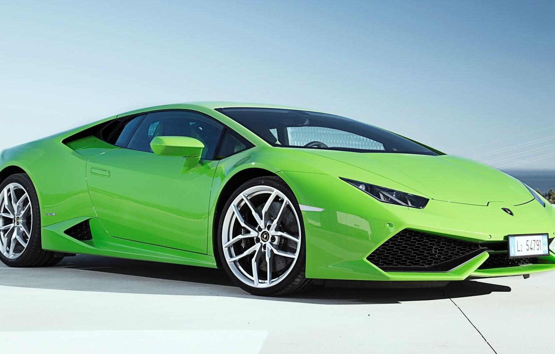 Photo wallpaper Lamborghini, 2014, LP 610-4, Huracan, LB724