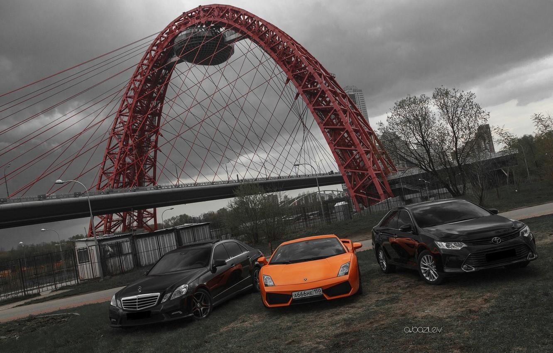 Photo wallpaper machine, Lamborghini, photographer, Mercedes, Toyota, auto, photography, photographer, Alex Bazilev, Alexander Bazylev, Alexander Bazilev