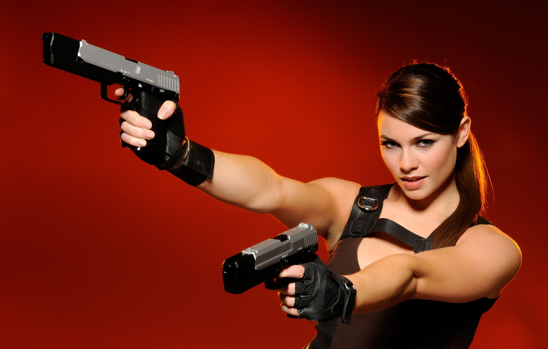 Photo wallpaper Tomb Raider, Alison Carroll, Lara Croft, Alison Carroll