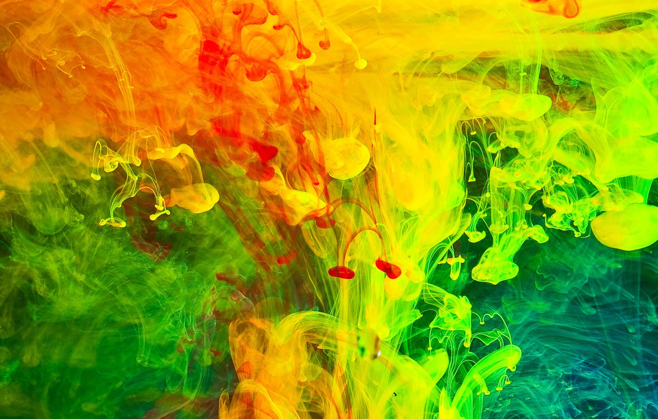 Wallpaper Water Colored Smoke Images For Desktop Section