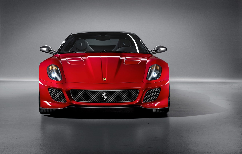 Photo wallpaper Machine, Ferrari, 599, Supercar, GTO, 2011.
