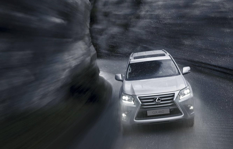 Photo wallpaper Lexus, Japan, SUV, 2014, wallpeapers, 460