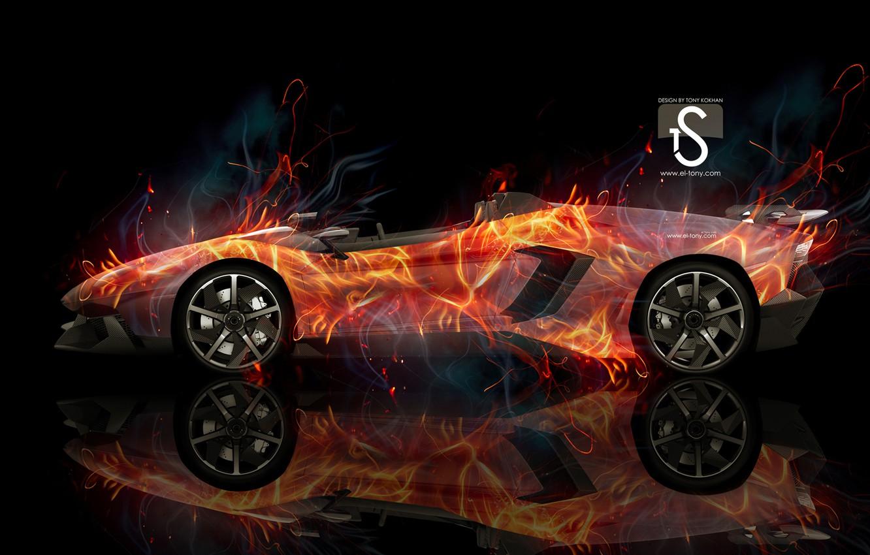 Wallpaper Car Abstract Lamborghini Background Lines Aventador
