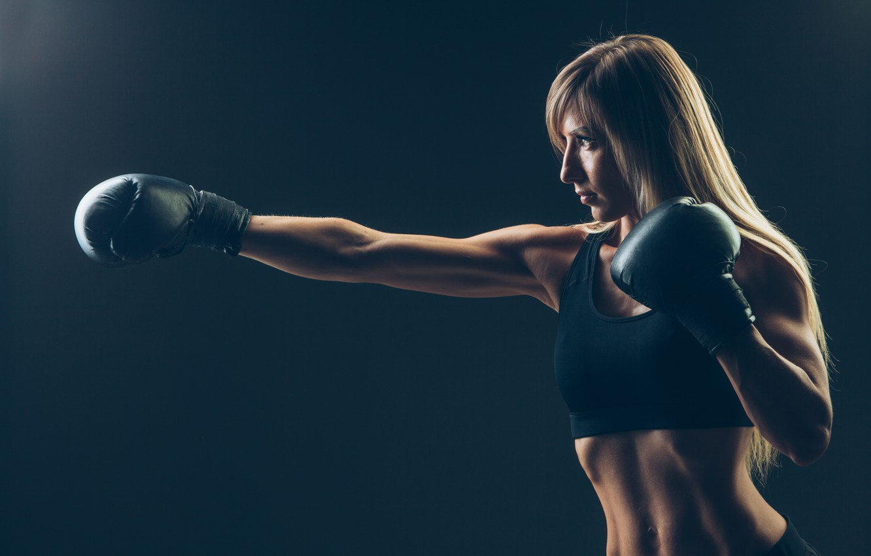 Photo wallpaper punch, training, Boxing, sportswear, transpiration