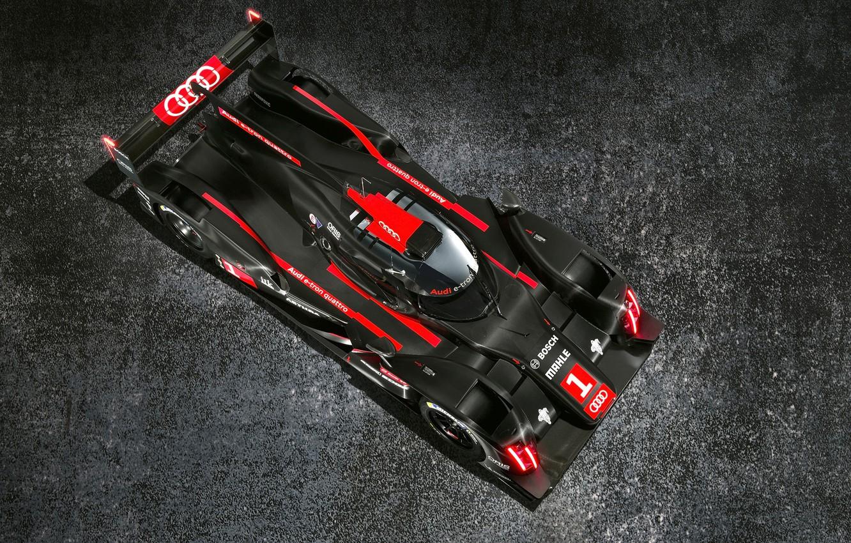 Photo wallpaper Audi, Quattro, LMP1, R18, And Tron