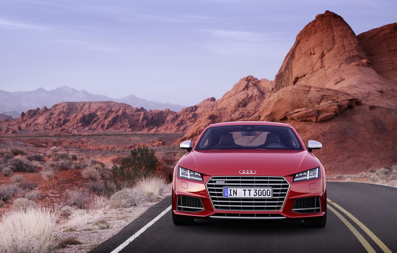 Photo wallpaper Audi, Coupe, 2015, TTS
