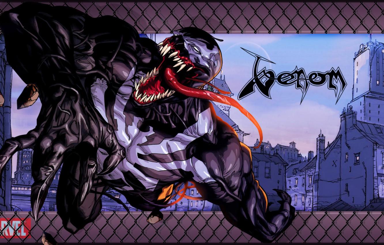 Photo wallpaper Style, Marvel, Comics, Venom, Honnoror