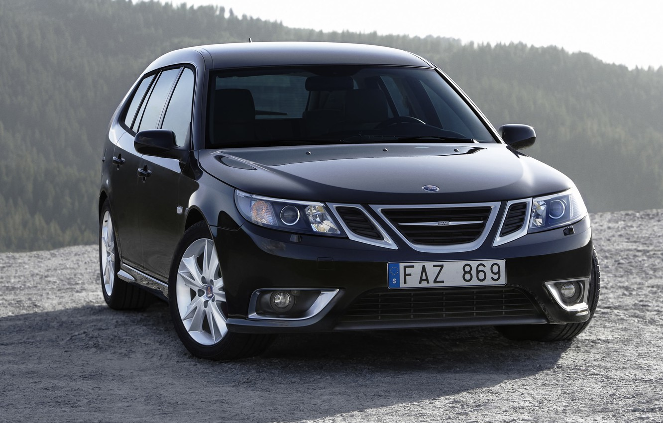 Photo wallpaper machine, Saab 9, can 9 photos