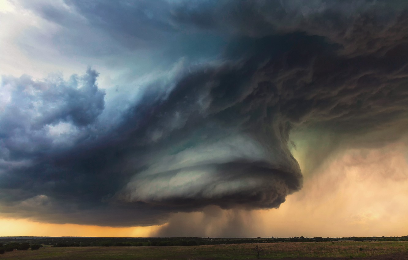 Wallpaper The Sky Clouds Storm Usa Texas State Rotating Thunderstorm Supercell Images For Desktop Section Pejzazhi Download