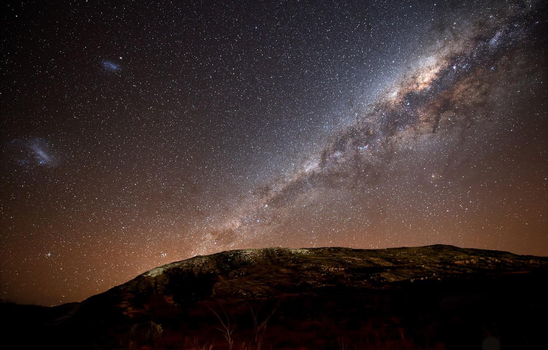 Photo wallpaper stars, The milky way, stars, galaxy, Milky Way galaxy, The night sky