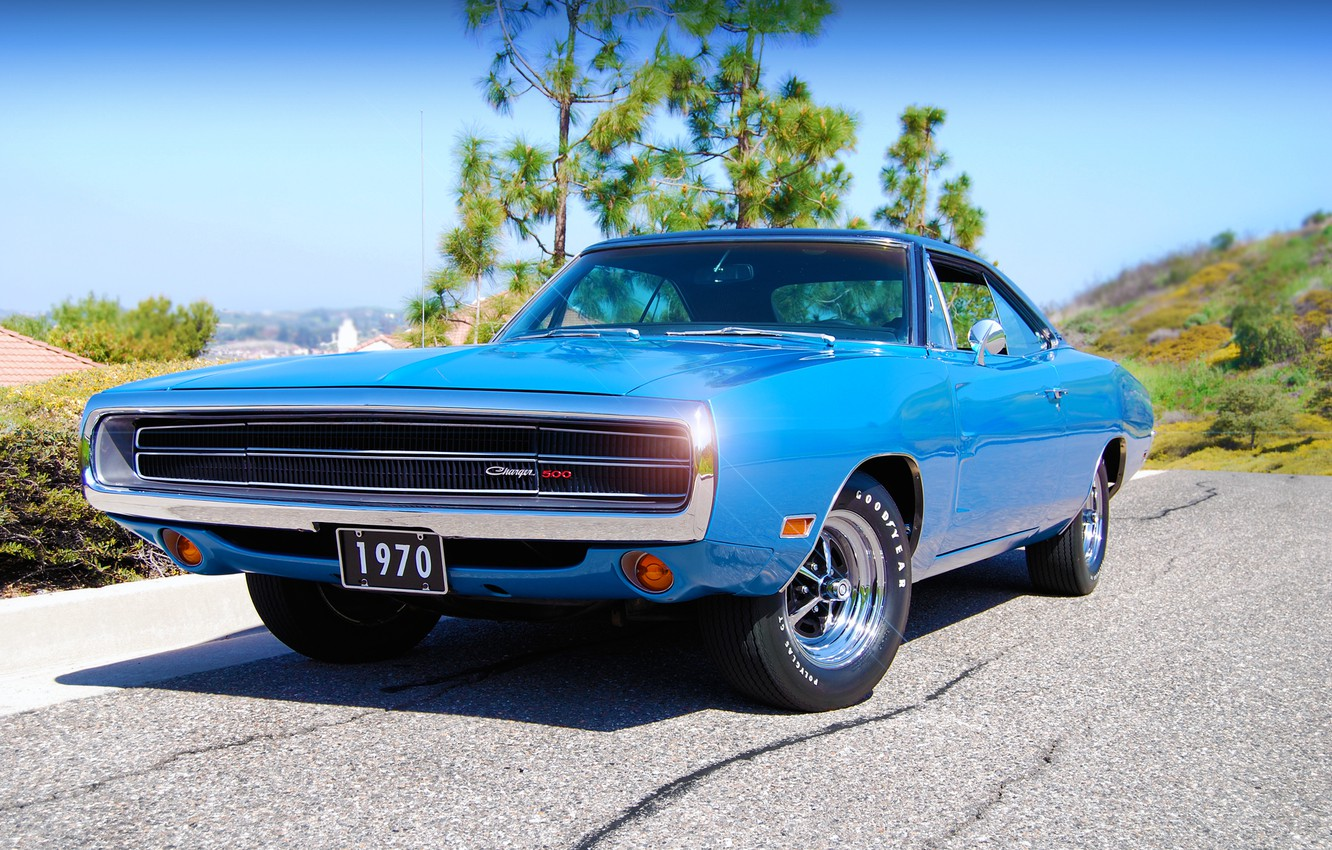 Photo wallpaper Dodge, Charger, 1970, 500