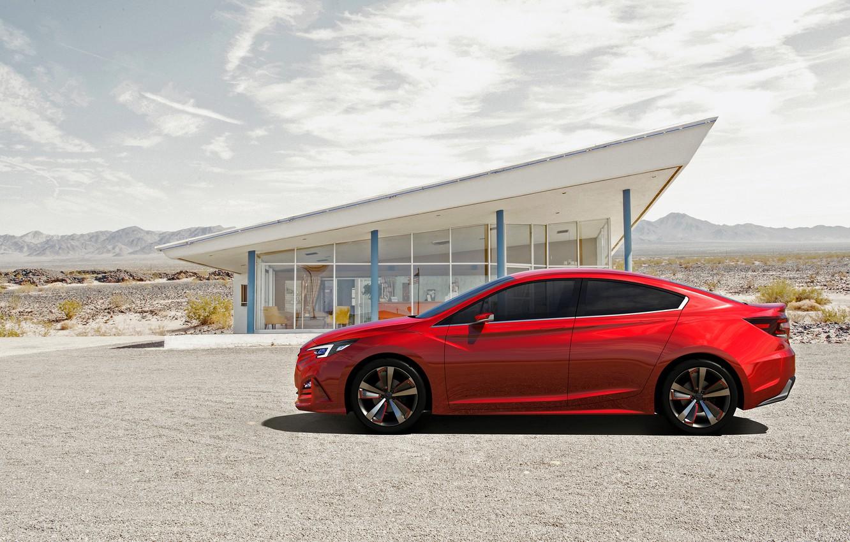 Photo wallpaper Concept, Subaru, Impreza, Subaru, Impreza, Sedan