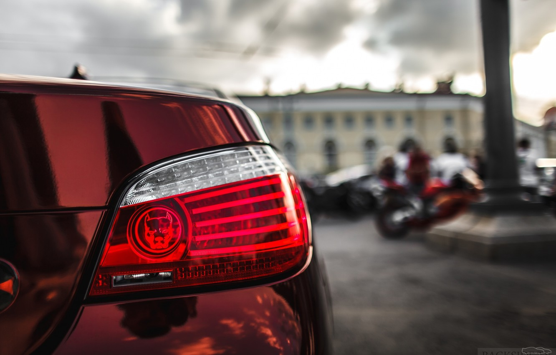 Photo wallpaper machine, auto, BMW, Shadow, lantern, auto, review, E60, The how to check engine temperature, Smotra, …