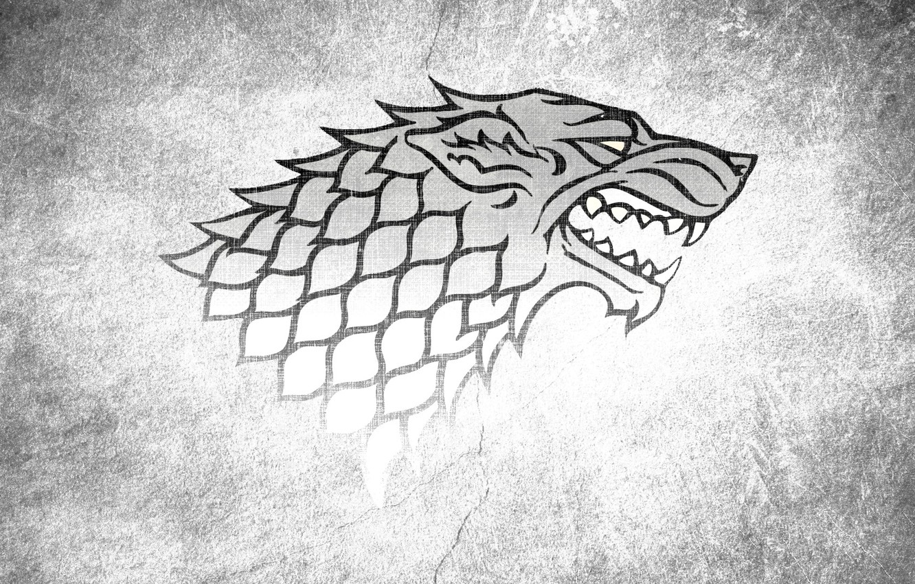 Wallpaper Wolf Game Of Thrones Game Of Thrones House Stark