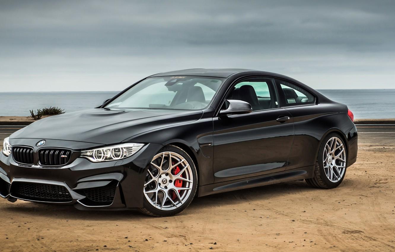Photo wallpaper black, BMW, coupe, BMW, Black, Coupe, F82, Noelle Motors