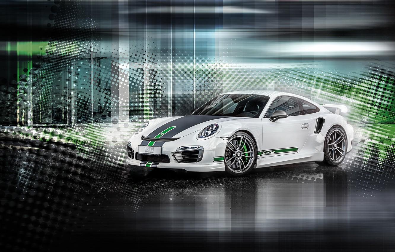 Photo wallpaper Porsche, Cayman, Porsche, TechArt, 2015, Caiman