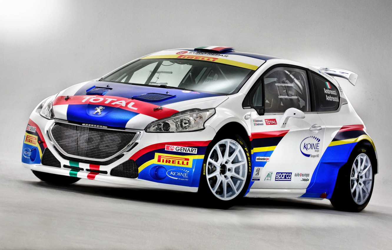 Photo wallpaper Peugeot, Peugeot, 2014, 208, T16