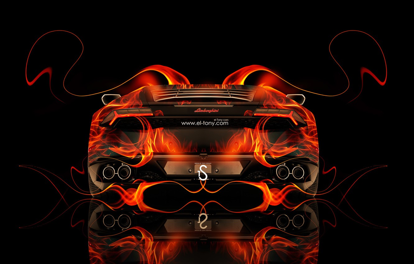 Wallpaper Lamborghini Fire Orange Orange Flame Fire Abstract