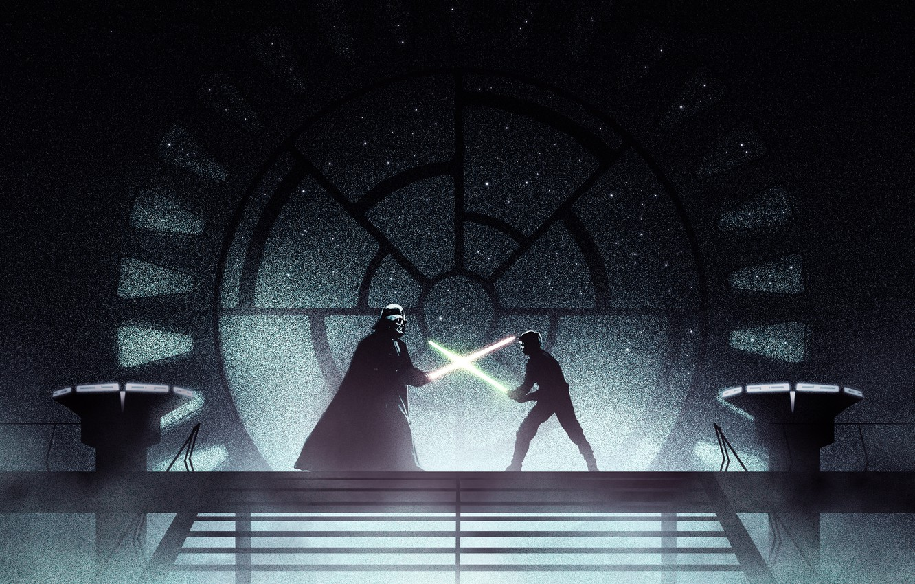 Wallpaper Star Wars Darth Vader Lightsaber Jedi Sith Luke