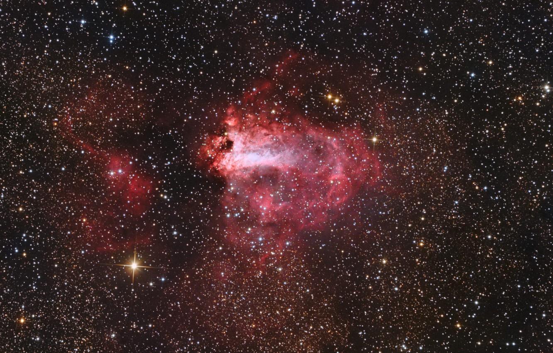 Wallpaper Sagittarius is in the constellation The Omega Nebula