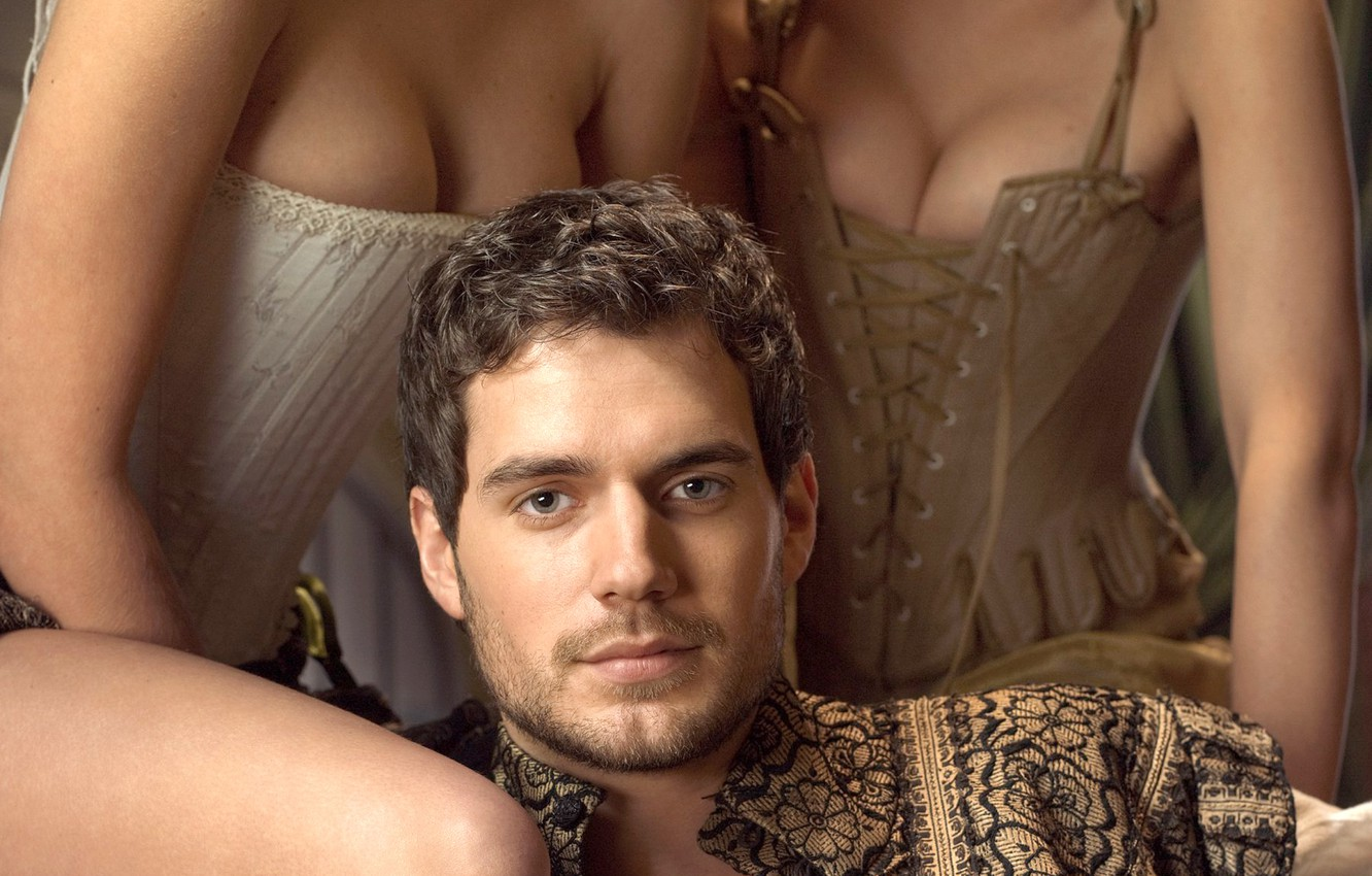 Photo wallpaper chest, actor, male, corset, the series, Henry Cavill, Henry Cavill, Tudors
