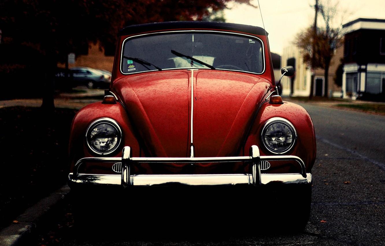 Photo wallpaper beetle, Volkswagen, beetle, old