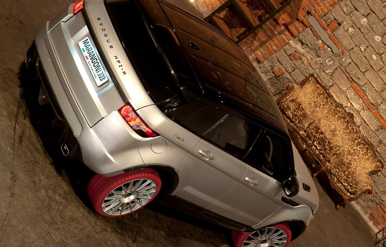 Photo wallpaper Wallpaper, SUV, Land Rover, Range Rover, rear view, Marangoni, HFI-R