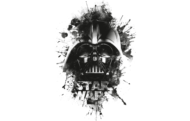 Wallpaper Darth Vader Black Star Wars Logo Images For Desktop