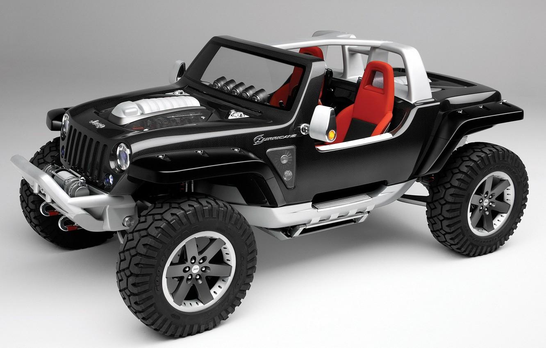 Photo wallpaper jeep, the concept, Jeep Hurricane Concept