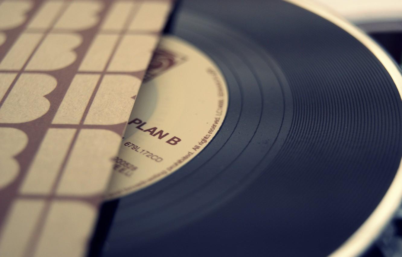 Photo wallpaper music, vinyl, record