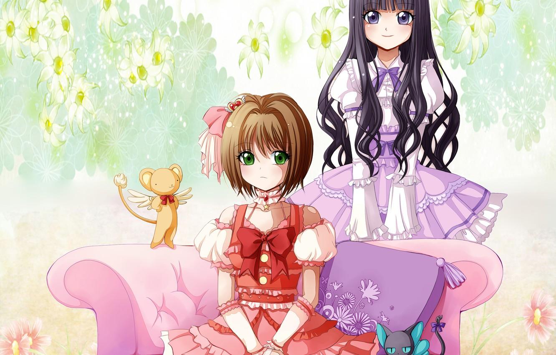 Photo wallpaper Sakura, Cardcaptor Sakura, Kerber, Tamoe
