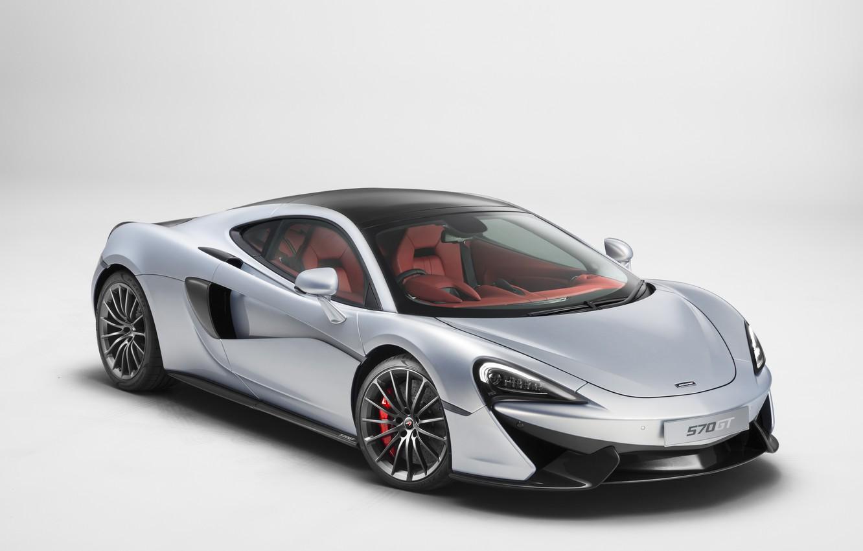 Photo wallpaper background, McLaren, supercar, McLaren, 570GT
