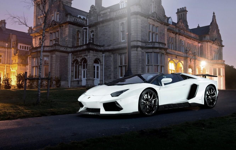 Photo wallpaper car, tuning, tuning, rechange, Lamborghini Aventador, Novitec Torado